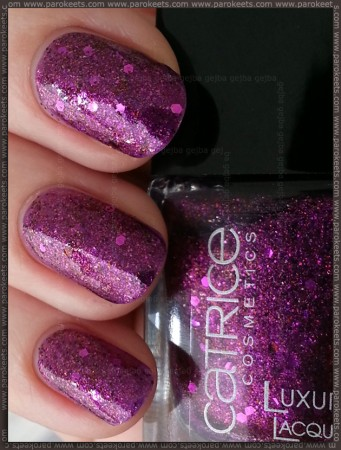 Catrice Plum Friction (Million Briliance collection) swatch