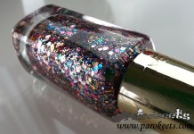 L'Oreal Sequine Explosion (842) nail polish detail nail polish bottle