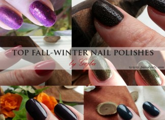 Top fall-winter nail polishes by Gejba
