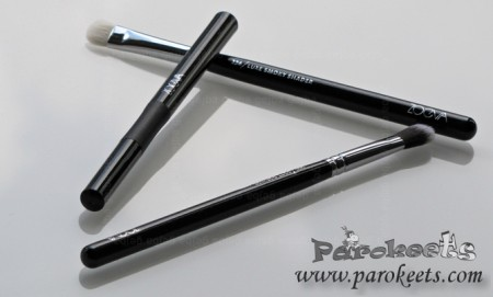 Zoeva eye brushes 227, 234, longlasting stylo liner