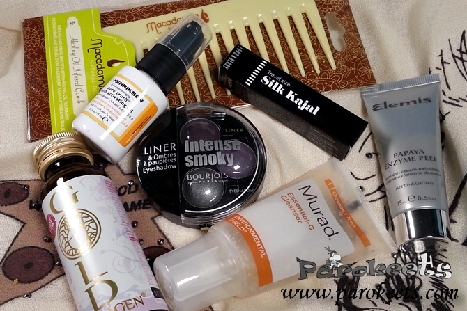 Lookfantastic Beauty Box December 2014 products