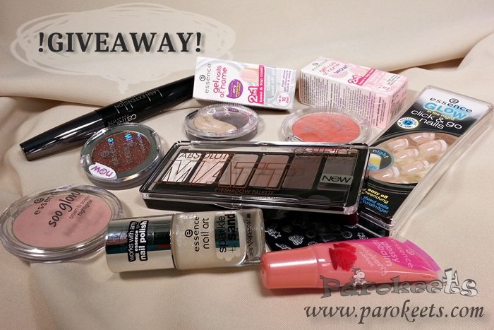 Essence, Catrice giveaway