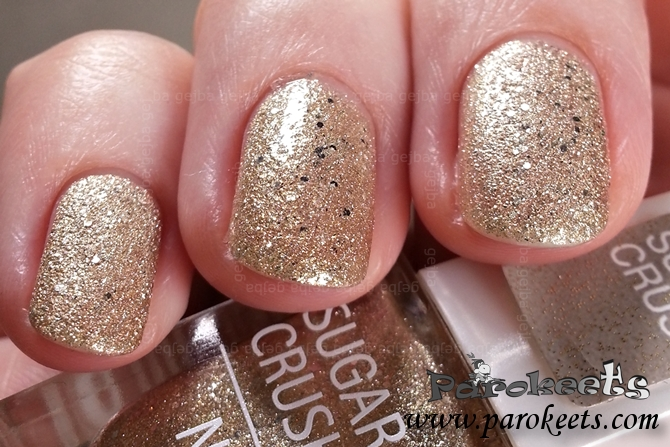Isadora Gold Crush 116 swatch