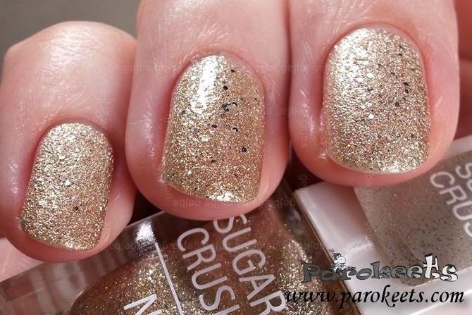 Isadora Gold Crush 116 swatch