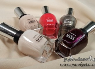 Sally Hansen nail polish collection by Gejba