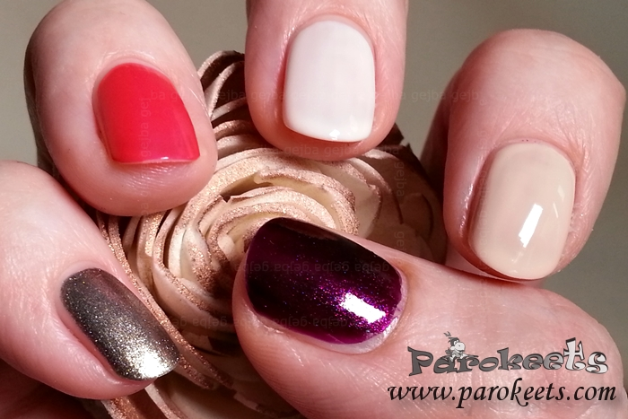 Sally Hansen nail polish collection by Gejba swatch