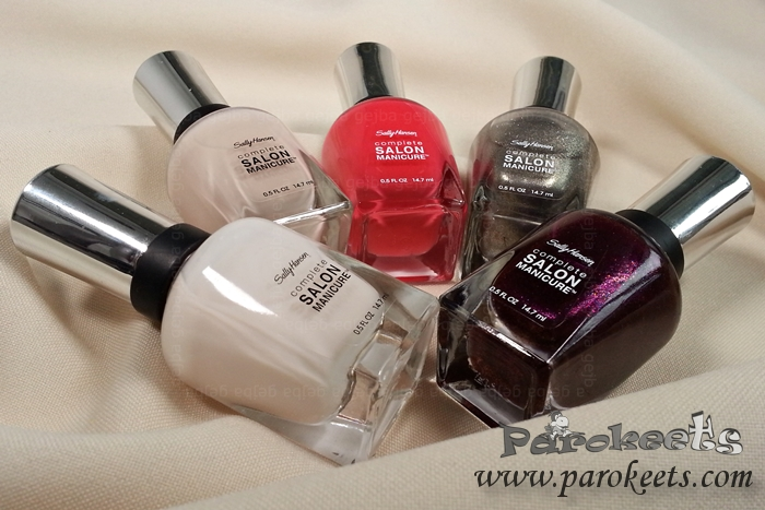 Sally Hansen nail polish collection by Gejba