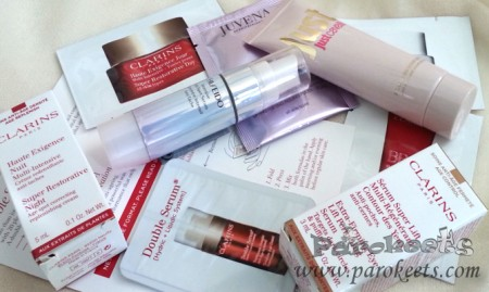 Skincare giveaway by Parokeets