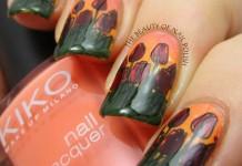 Tara - tulips manicure 5