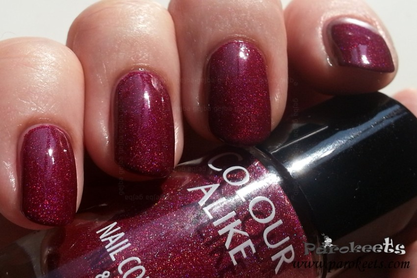 Colour Alike 503 holo nail polish