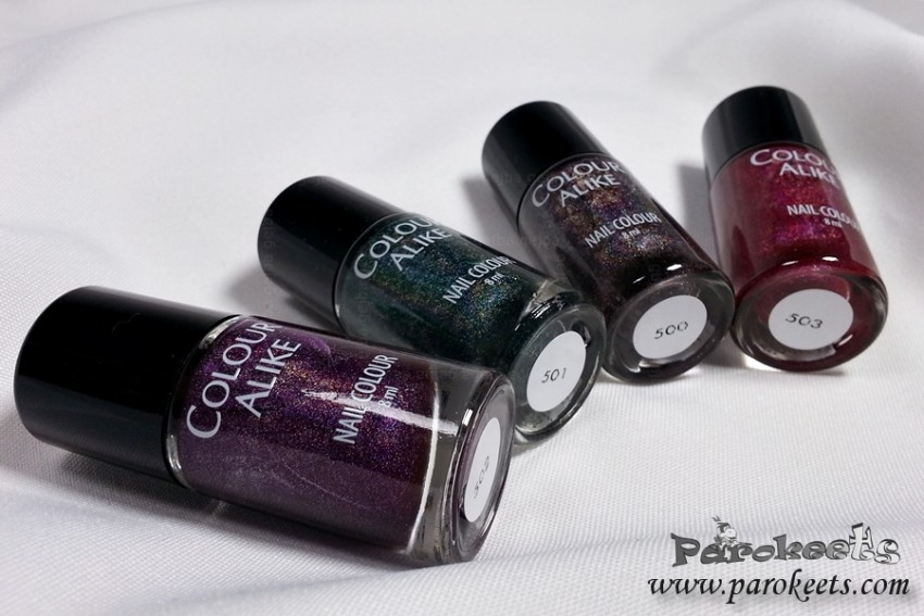 Colour Alike nail polishes