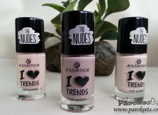 Essence The Nudes nail polishes