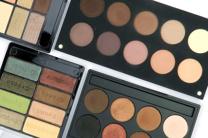 Eyeshadow palettes review by Parokeets