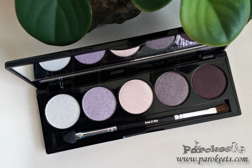 IsaDora Magic Mauves paleta senčil