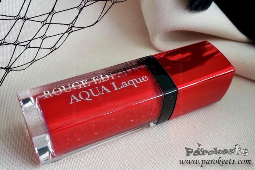 Bourjois Aqua Laque 05 Red M Lips