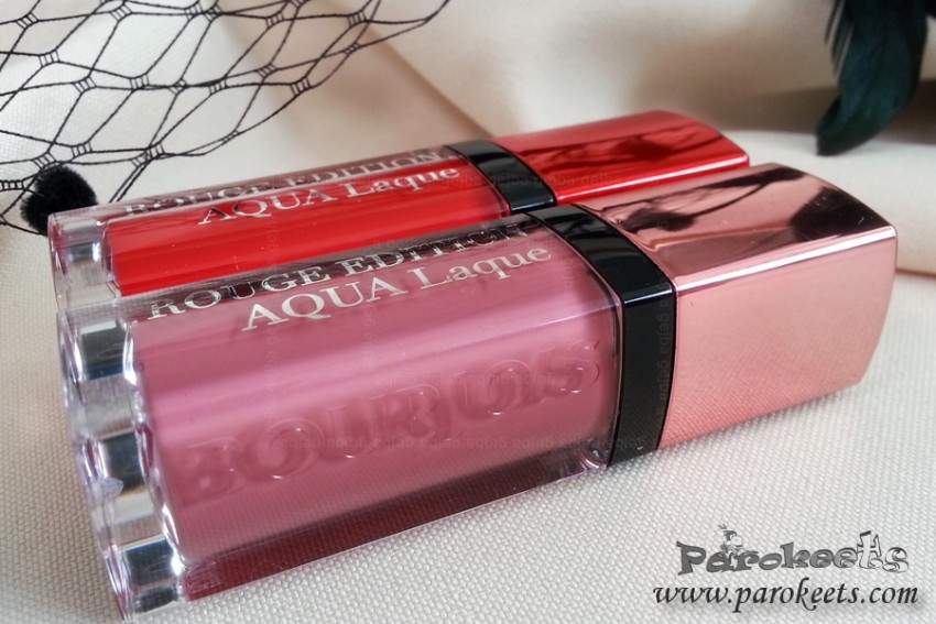 Bourjois Aqua Laque lips