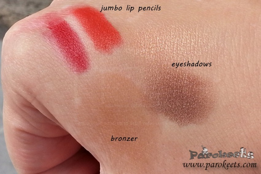 Catrice Nomadic Traces swatches