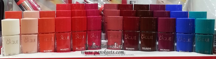 12 new Bourjois La Lacque nail polishes (2015)