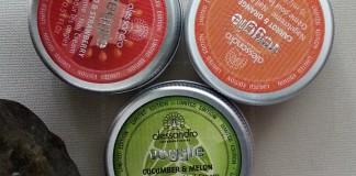 Alessandro Veggie nail creams closed