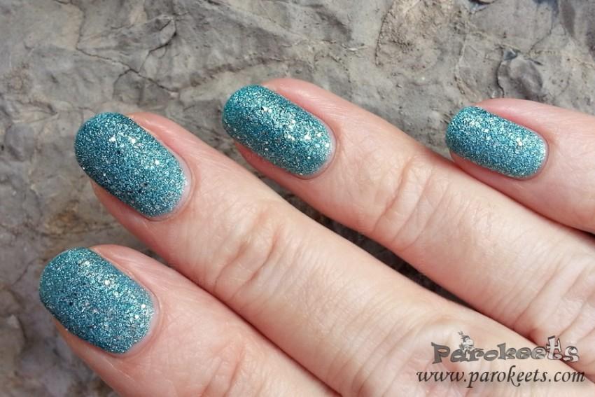 Avon Mineral Crush Topaz nail polish