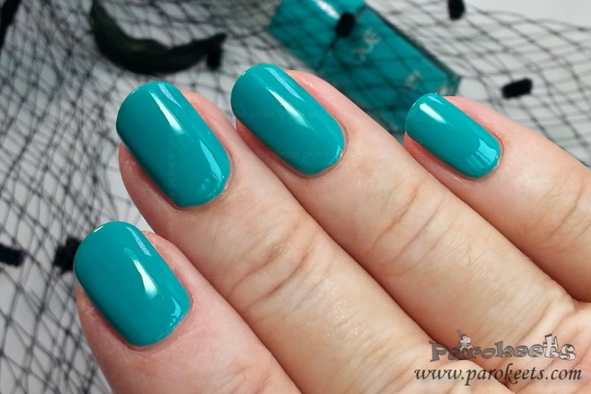 Bourjois La Lacque 12 Ni Vernis bleu nail polish (2015)
