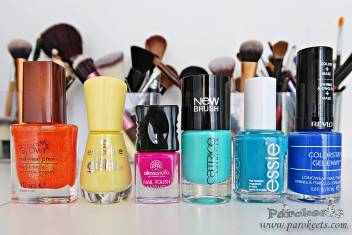 Top summer nail polishes 2015