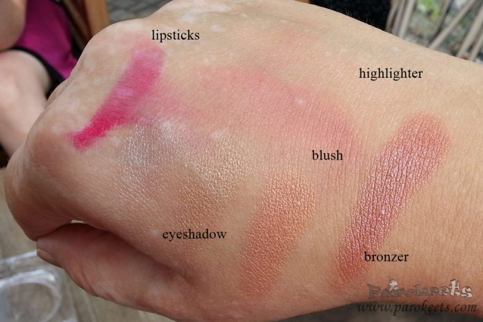 Catrice Lumination swatches (blush, bronzer, highlighter)