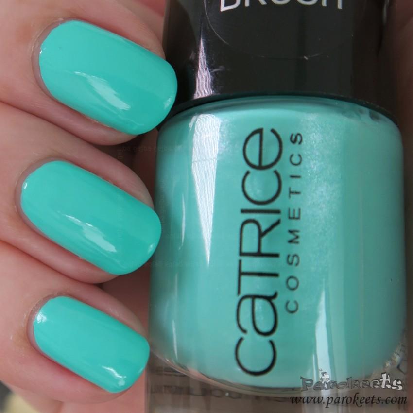 Catrice (S)wimbledon (turquoise) nail polish