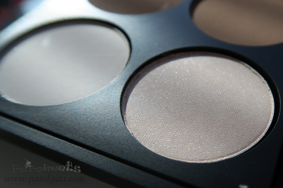 Make up Factory Warm Earth eyeshadow palette (highlighters)