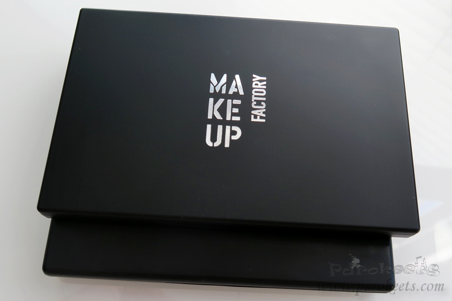 Make up Factory palette vs Inglot palette