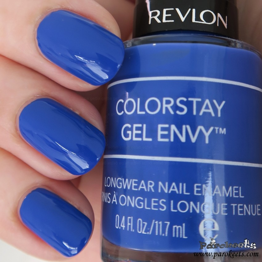 Revlon 440 Wild Card nail polish (Colorstay Gel Envy)