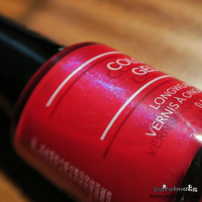 Revlon Roulette Rush nail polish shimmer (Colorstay Gel Envy)
