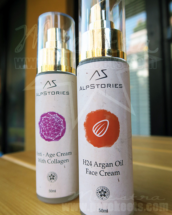 AlpStories: Anti-Age Face Cream With Collagen, Face Cream With Argan Oil
