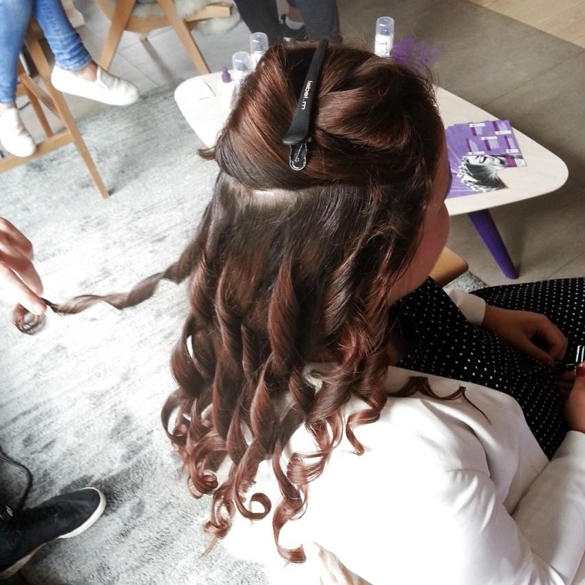 Tara - frizura narejene na Aussie eventu
