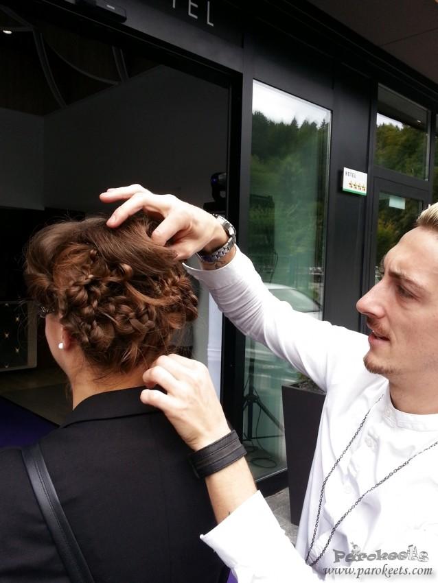 Taya - frizura narejene na Aussie eventu