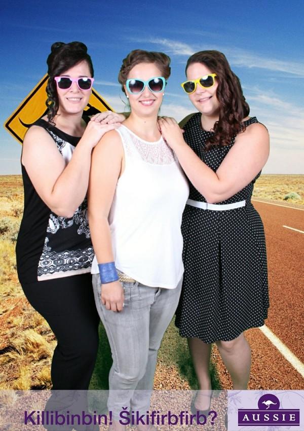 Aussie event: Gejba, Taya, Tara