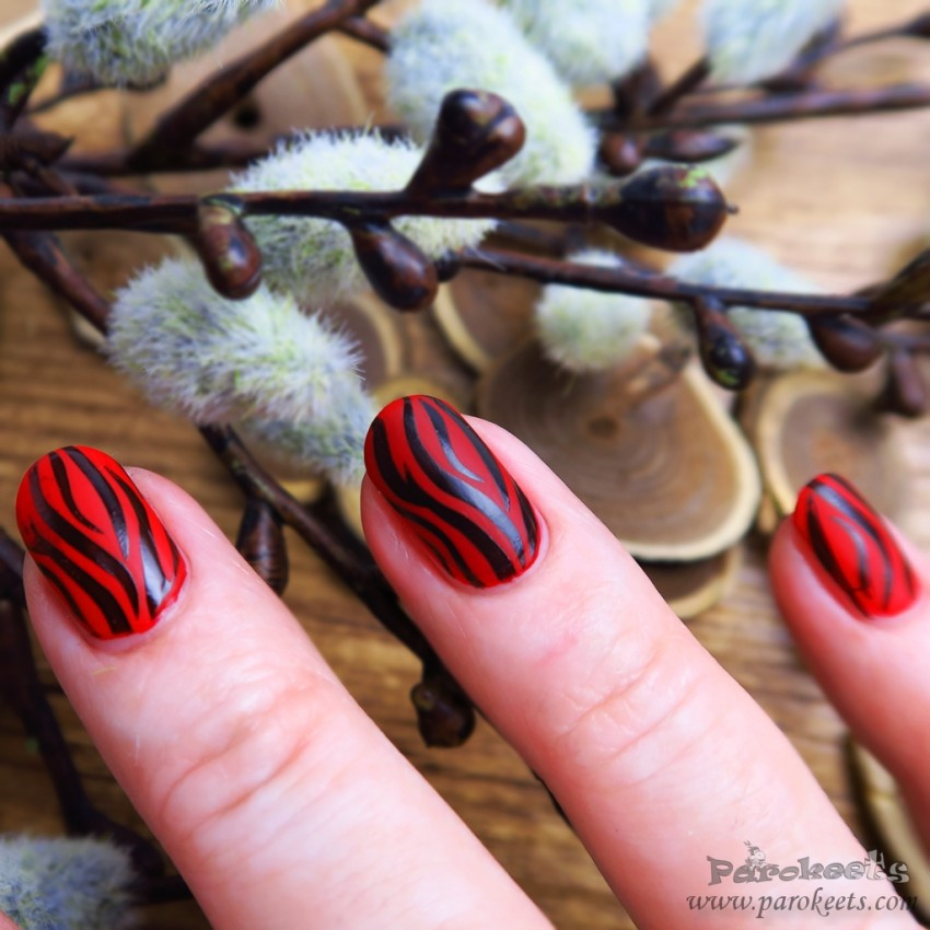 Fall 2015 fashion inspired manicure