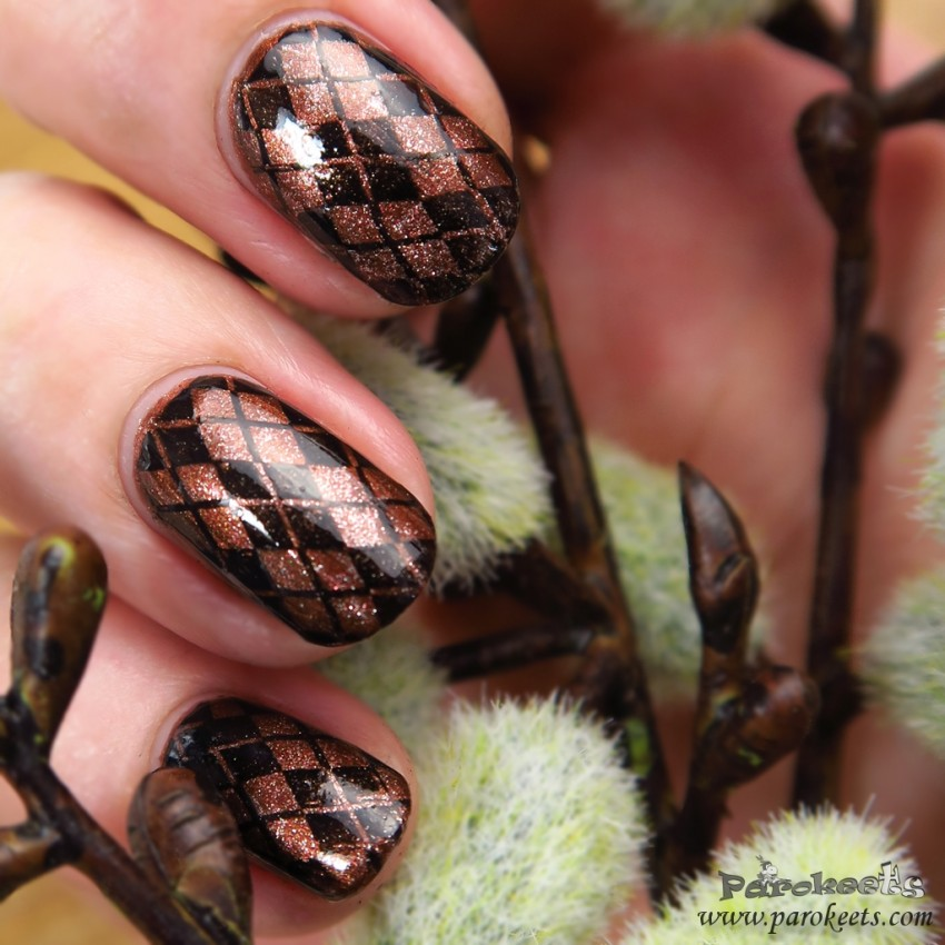 Fall fashion inspired nails 2015 by Gejba