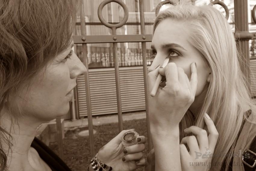 Nika Veger jesenski makeup