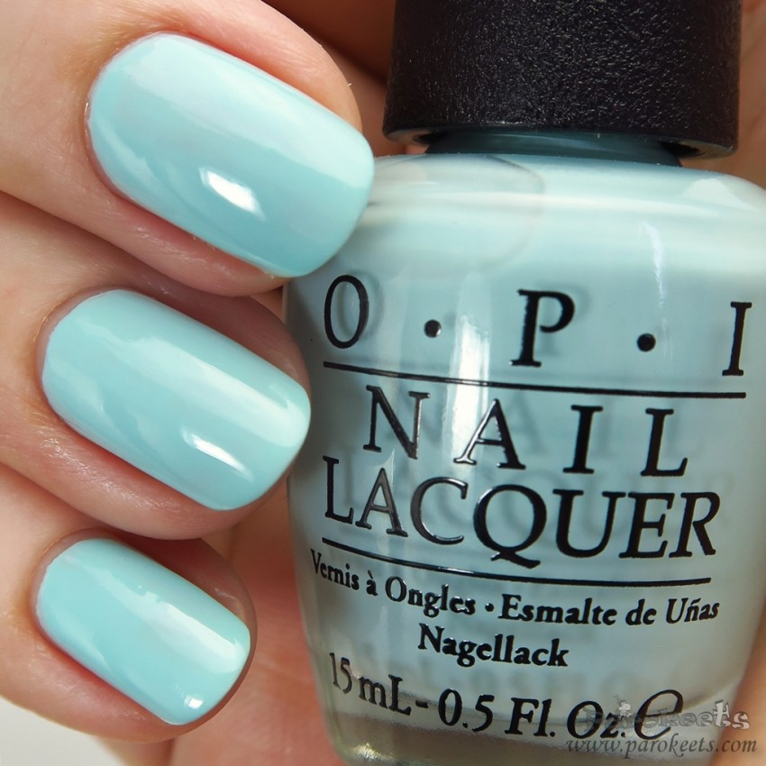 OPI Gelato on my mind (Venice) pastel nail polish