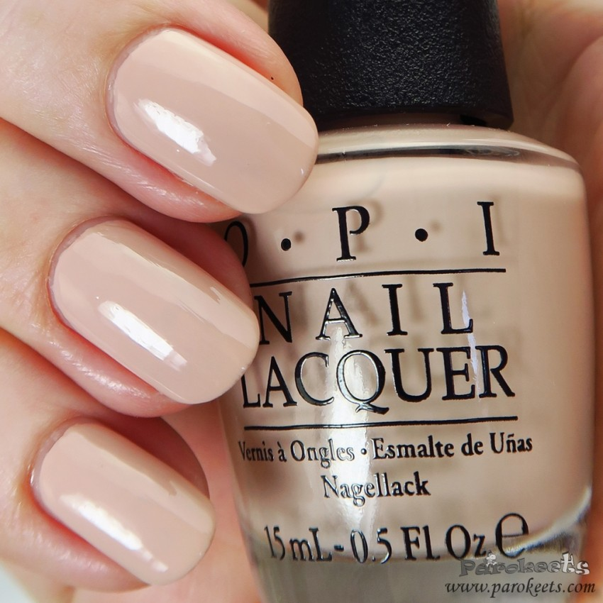 OPI Tiramisu for two nude nail polish (Venice collection)