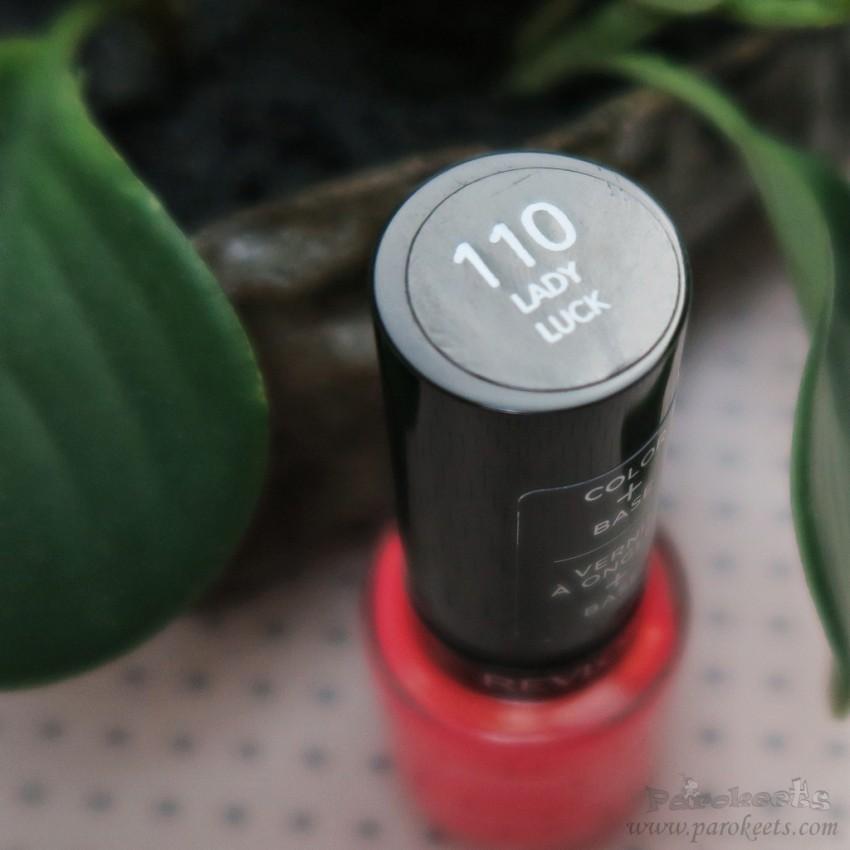 Revlon nail polish 110 Lady Luck (Colorstay Gel Eny)