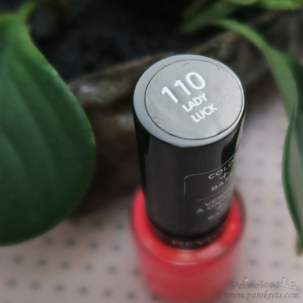Revlon nail polish 110 Lady Luck (Colorstay Gel Eny)