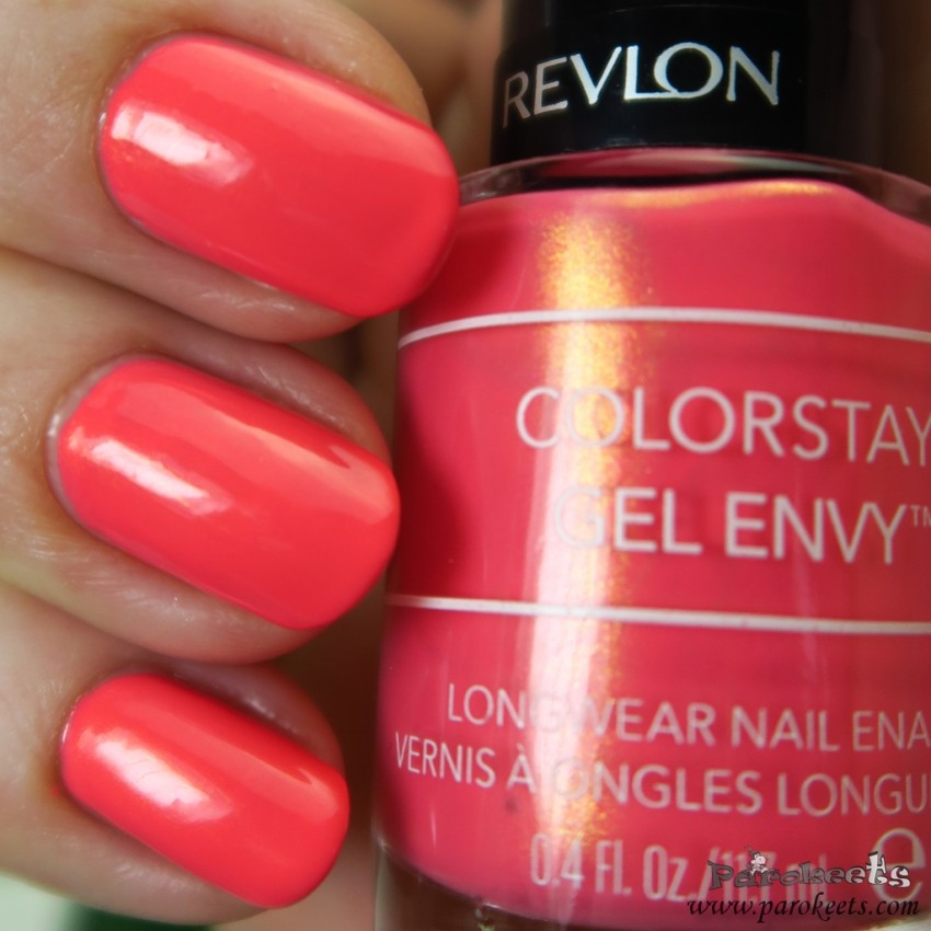 Revlon nail polish 110 Lady Luck swatch gallery