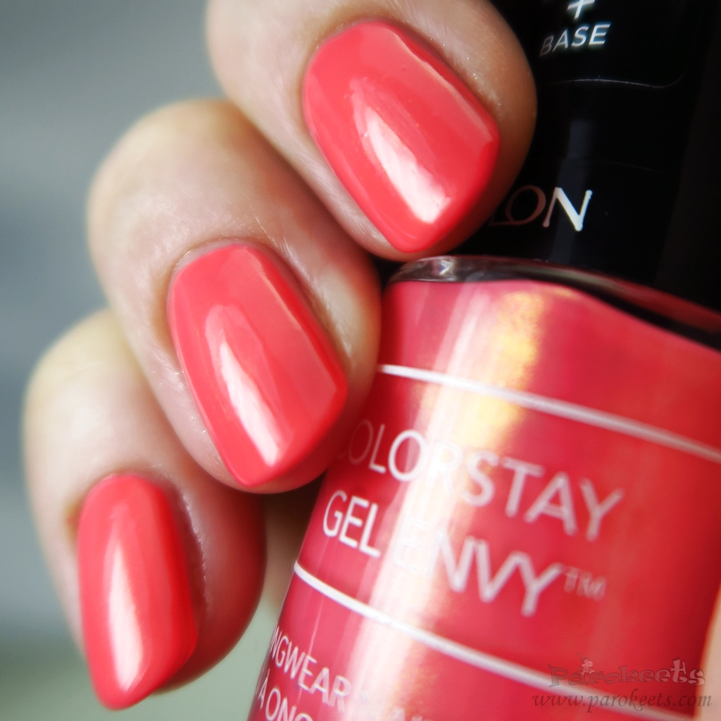 Revlon nail polish 110 Lady Luck swatch
