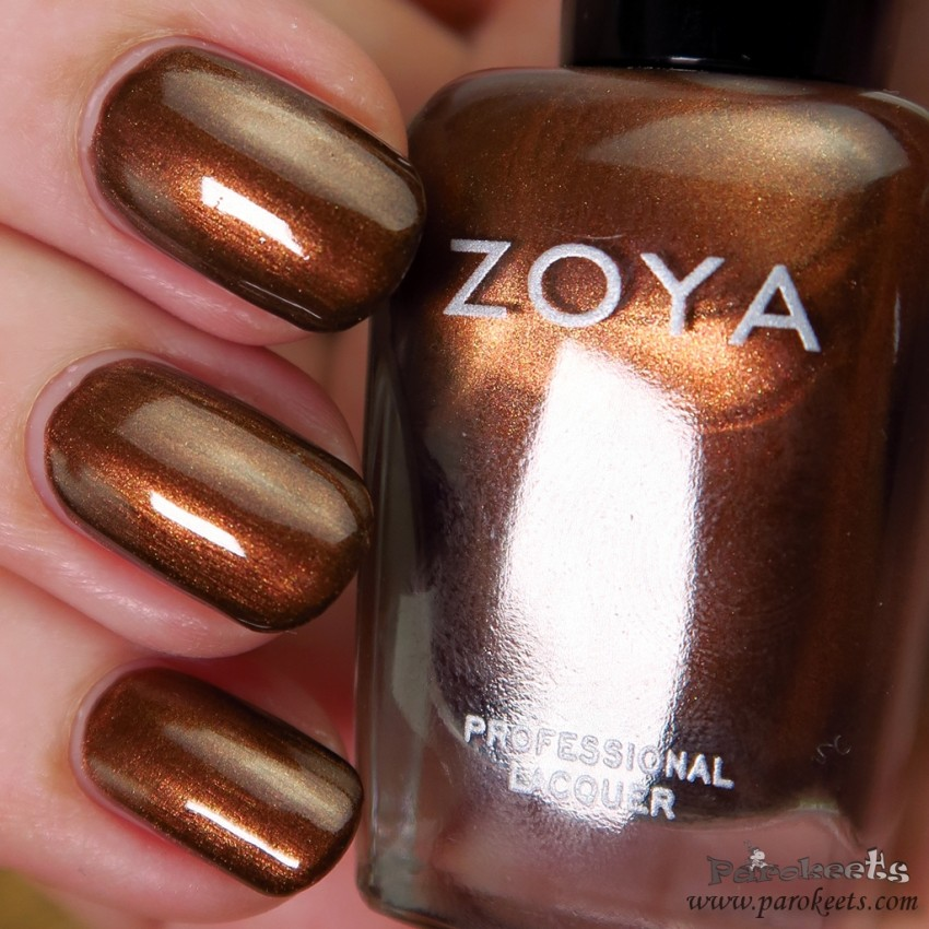 Zoya Cinnamon (Flair LE) nail polish