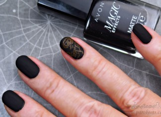 Avon Matte Magic Effects BLACK Halloween