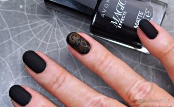 Avon Matte Magic Effects BLACK Halloween
