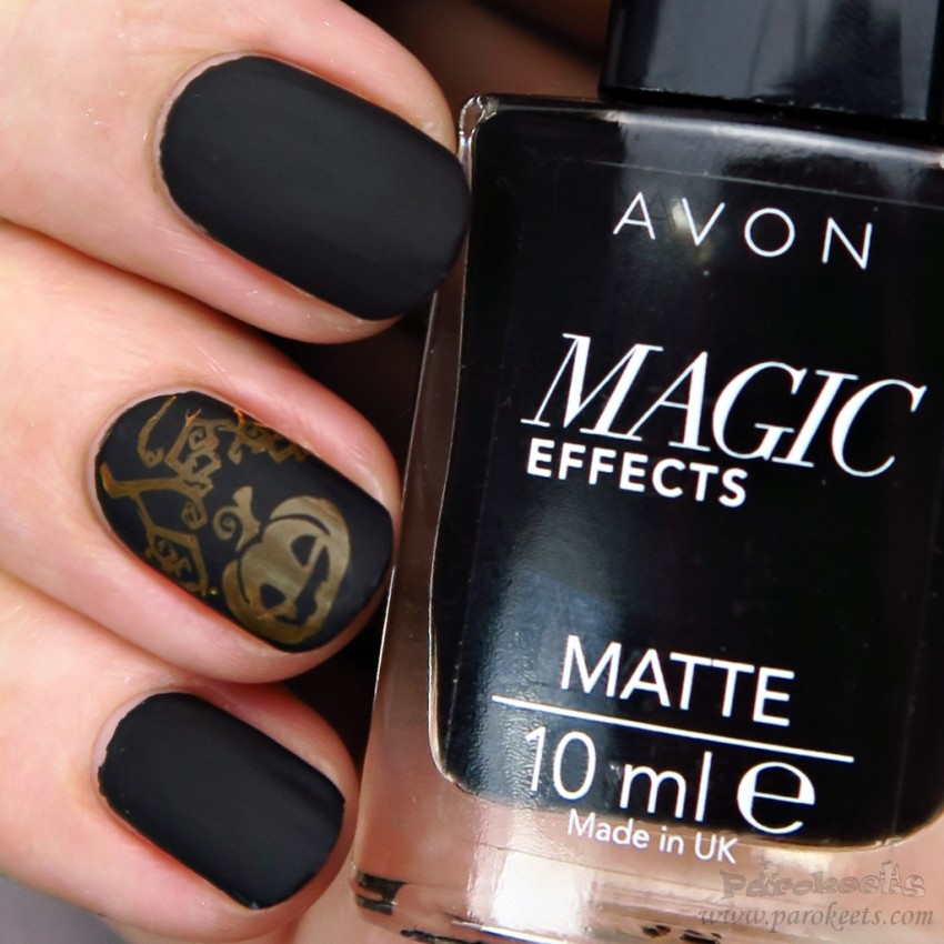 Avon Matte Magic Effects BLACK Halloween zoom