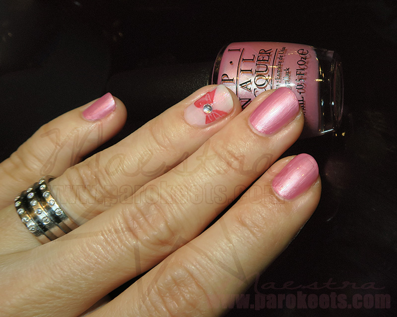 OPI Aphrodites Pink Nightie - Breast Cancer Awareness